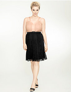 Stretch lace cocktail dress by Isabel Toledo